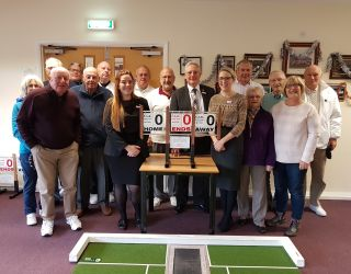 Leightons Totton join Totton Bowls Club for the day