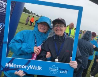 Leightons Epsom and Sutton take part in Alzheimer's Memory Walk