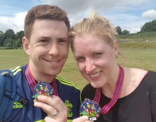 Optometrist takes part in the Great South Run 2018