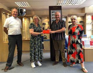 Burnham-on-Sea wish Wendy a wonderful retirement