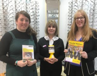 Leightons Haslemere supports the Macular Society