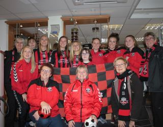 Spectrum Eyecare Support Lewes Ladies Football Team