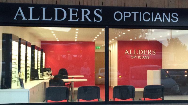 Allders Opticians join THCP