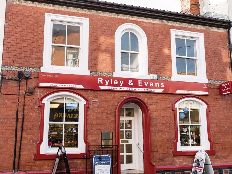 ryley and evans opticians