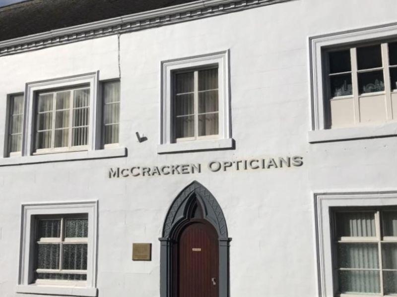 mccracken opticians exterior