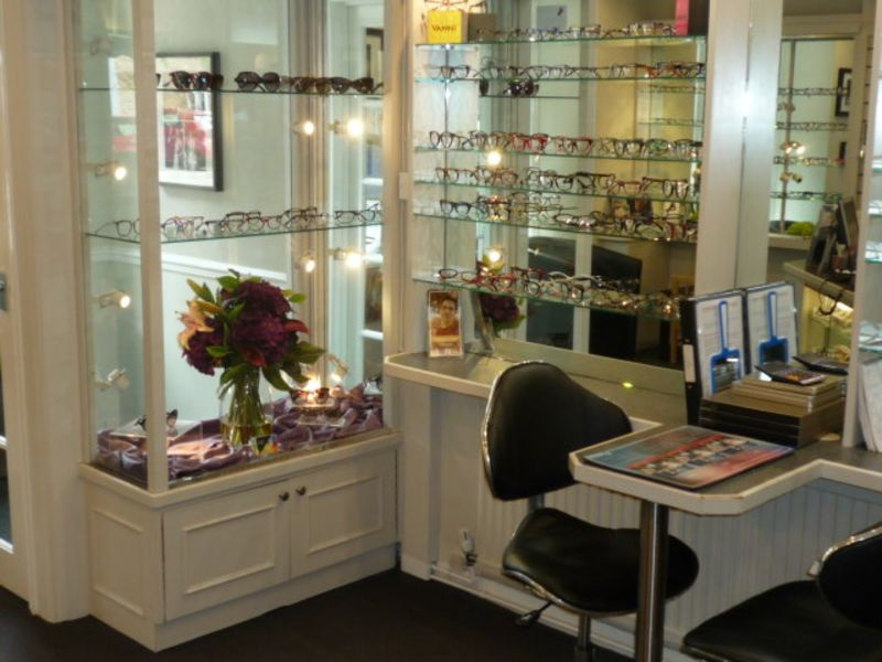 davis opticians interior olney
