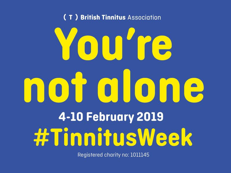 Tinnitus Awareness Week: Don't worry, you're not alone