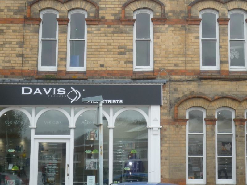 David optometrists exterior thrapston