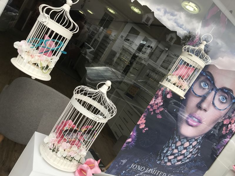 Jono Hennessy window display