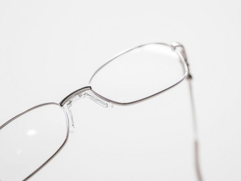 Pair of silver framed glasses