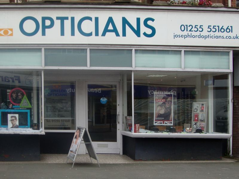 goldsmith webb opticians Dovercourt exterior