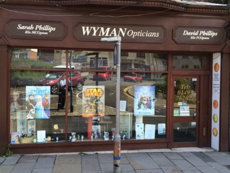 wyman opticians