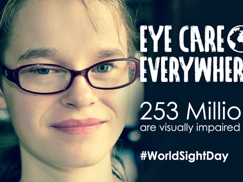 Eye Care Everywhere World Sight Day poster