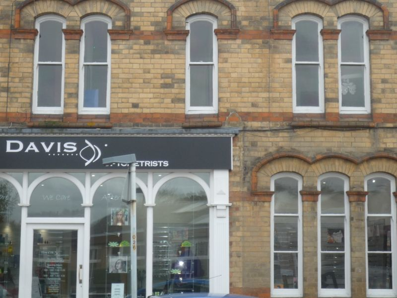 davis optometrists thrapston