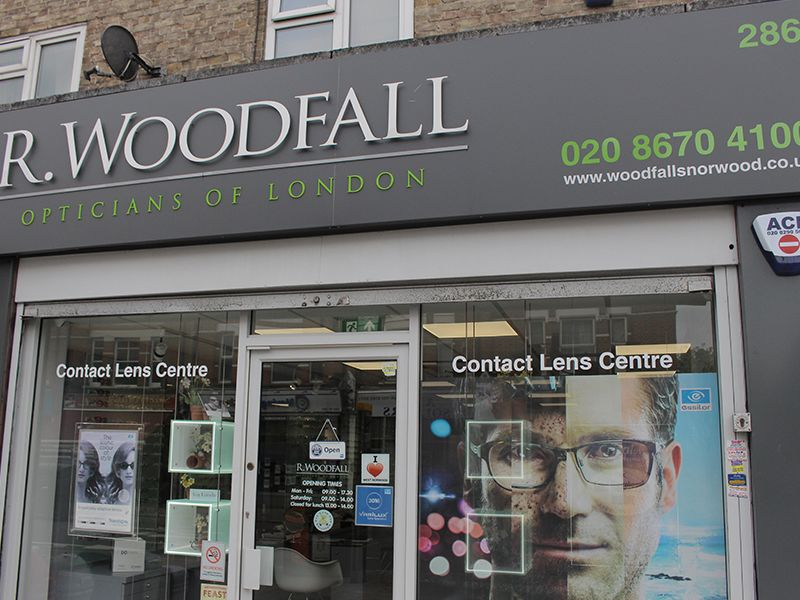 r woodfall opticians west norwood exterior