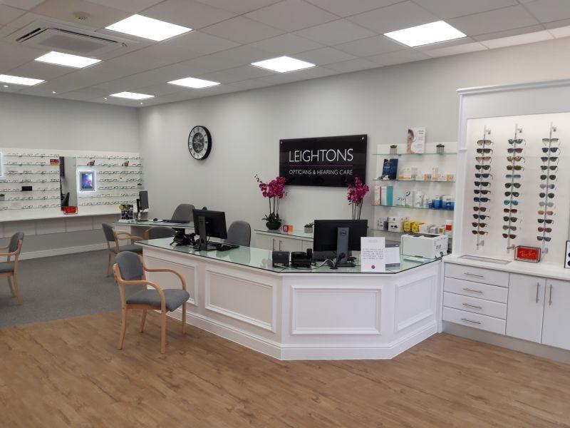 leightons wokingham reception area