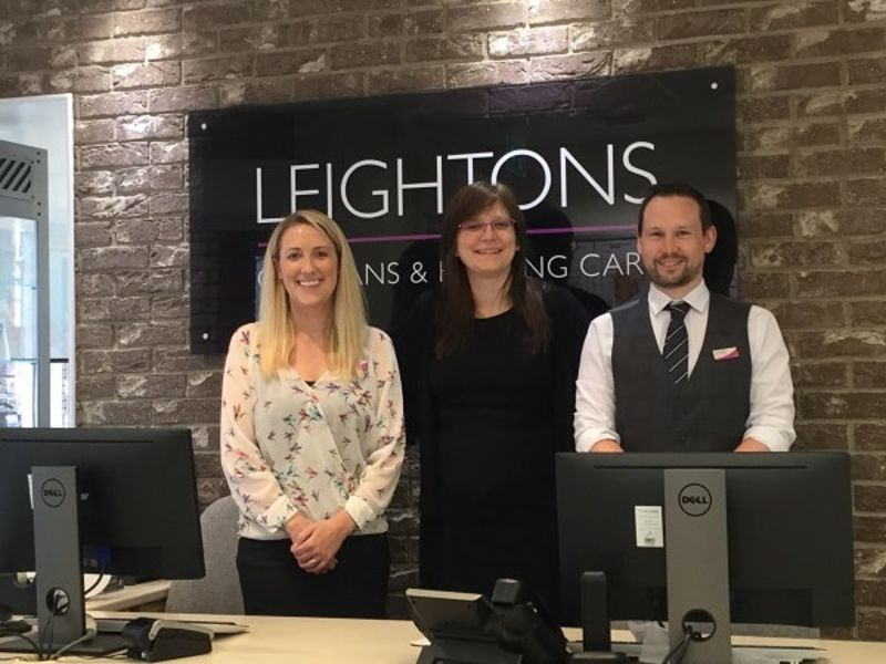 Leightons staff Chandler Ford store