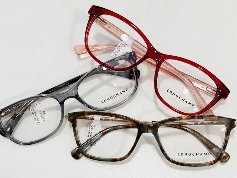 Three pairs of Longchamp glasses