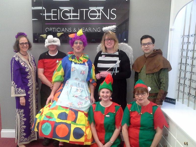 Leightons staff in fancy dress