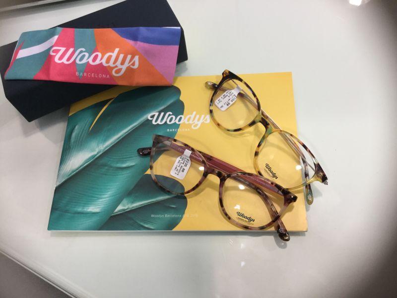 Johnson and Woodys Barcelona glasses display