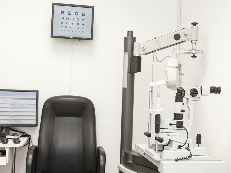 Leightons Addlestone testing room