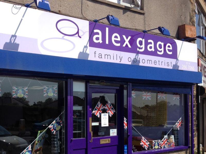 Alex Gage optometrists Crosspool exterior