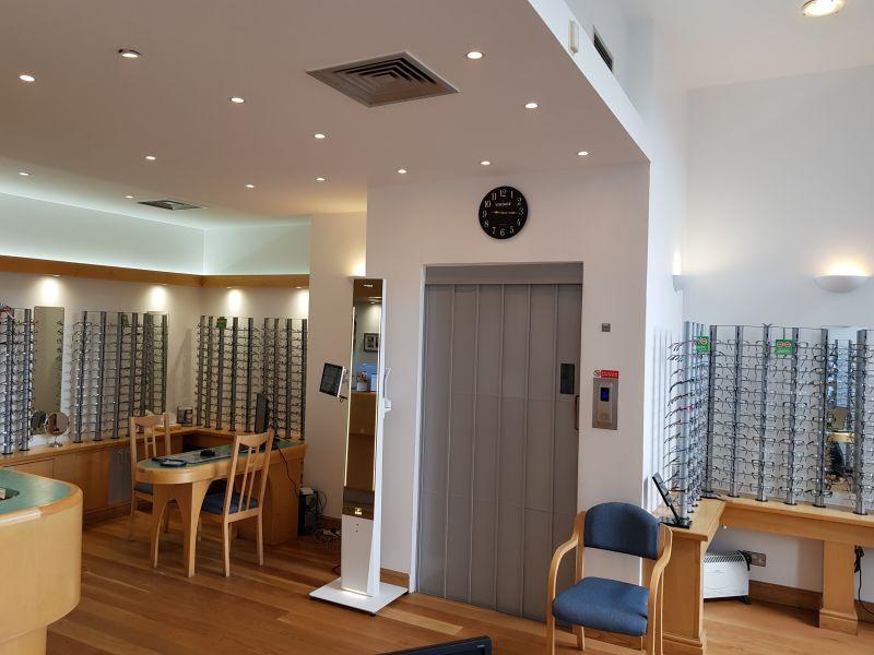 Robson Opticians interior 1.