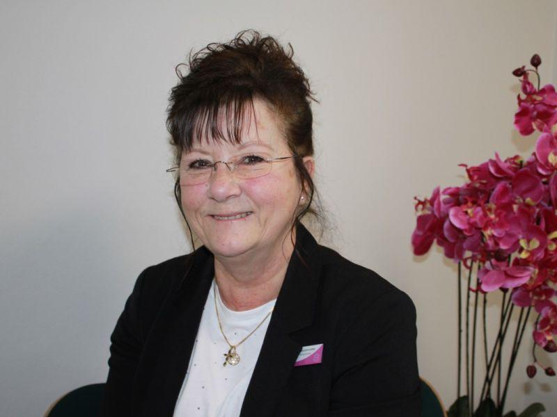 Theresa Baldacchino at Leightons Opticians