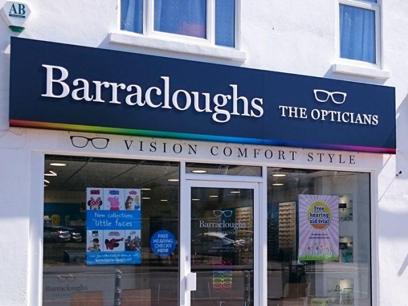 barracloughs opticians st leonards