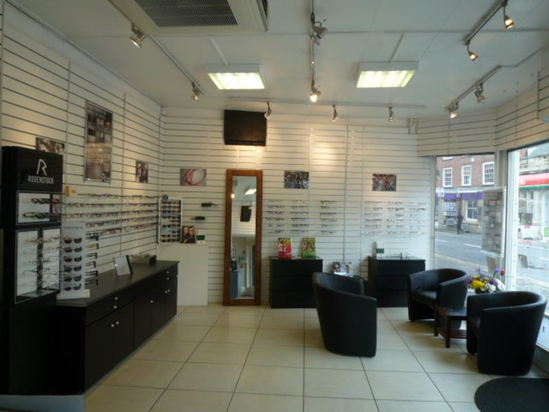 davis optometrists interior