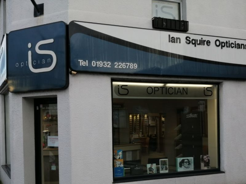 Squire Opticians storefront