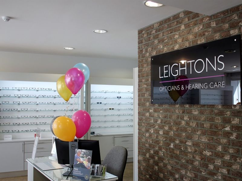 Leightons store with balloons