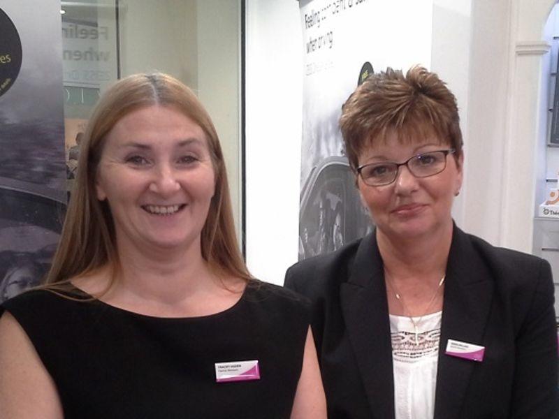Tracey Ogden & Karen Millins