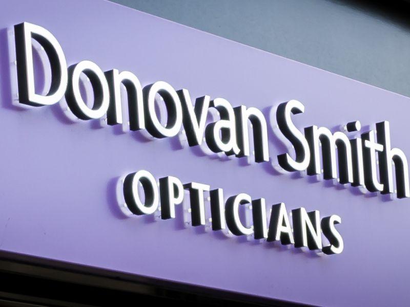 donovan smith opticians exterior