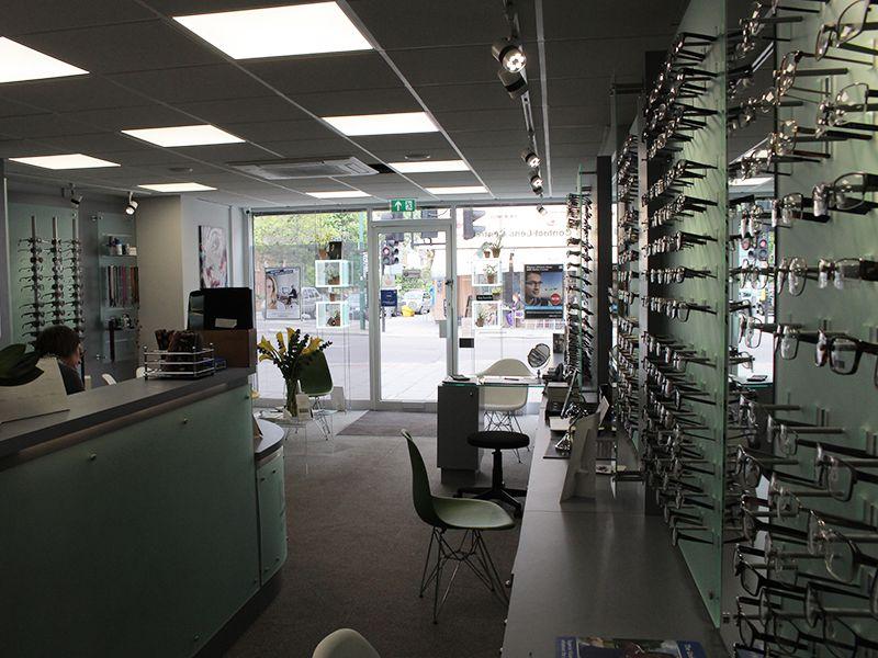 r woodfall opticians interior