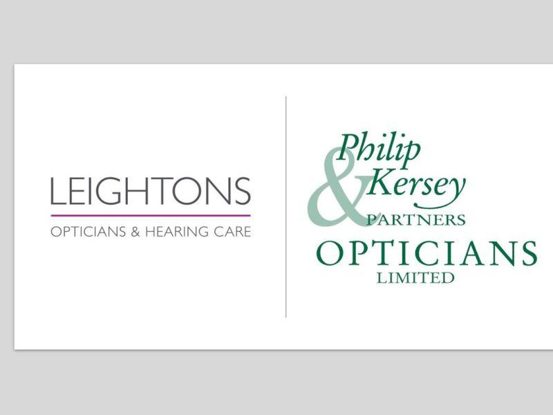 Leightons kersey opticians logo