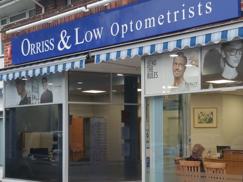 orriss and low optometrists exterior