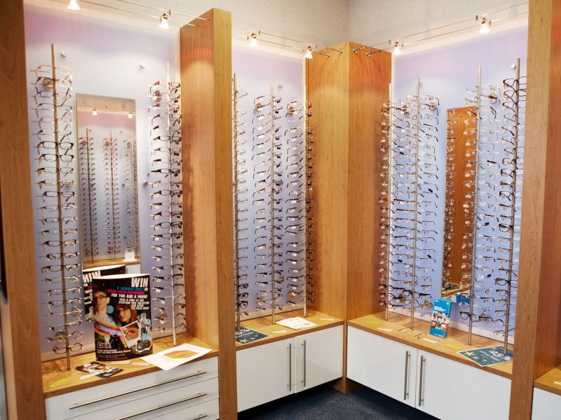 orriss and low optometrists interior