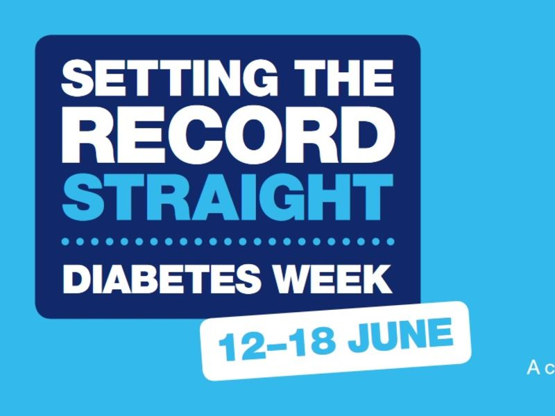 Setting the record straight Diabetes week 12-18 June text