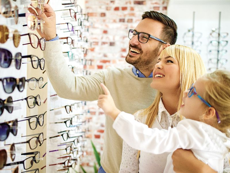 Family browsing glasses