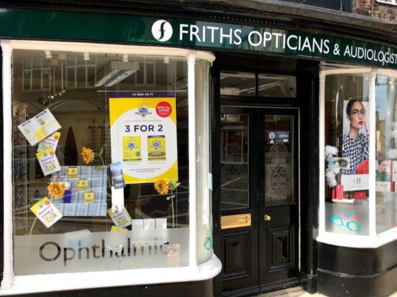 robert frith opticians dorchester