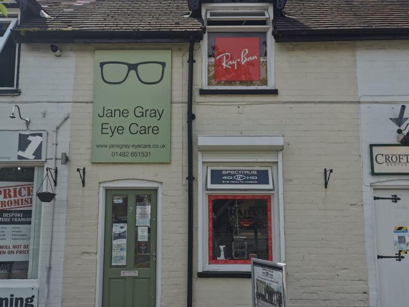 Jane Gray eyecare exterior