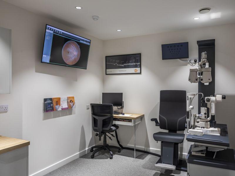 Leightons Cobham testing room