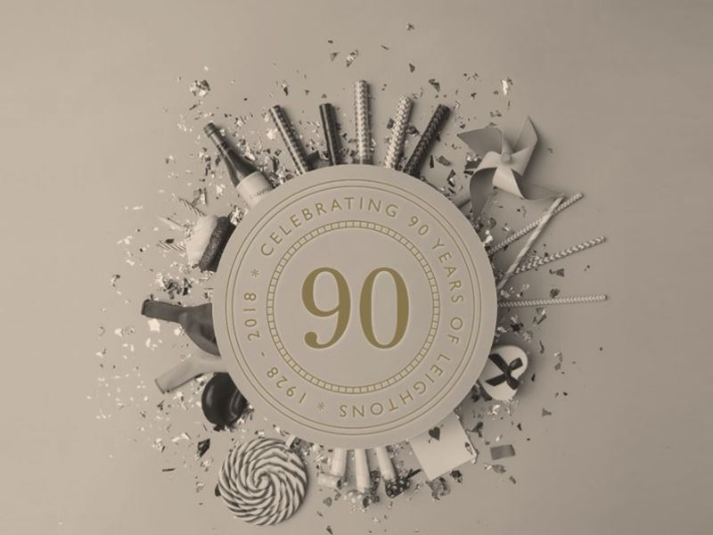Celebrating 90 years at Leightons