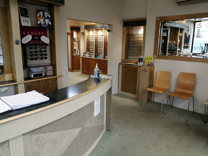 Photo of Squire Opticians' Reception