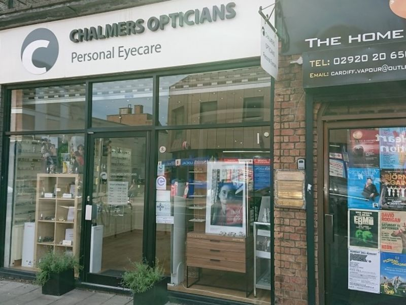 chalmers opticians exterior