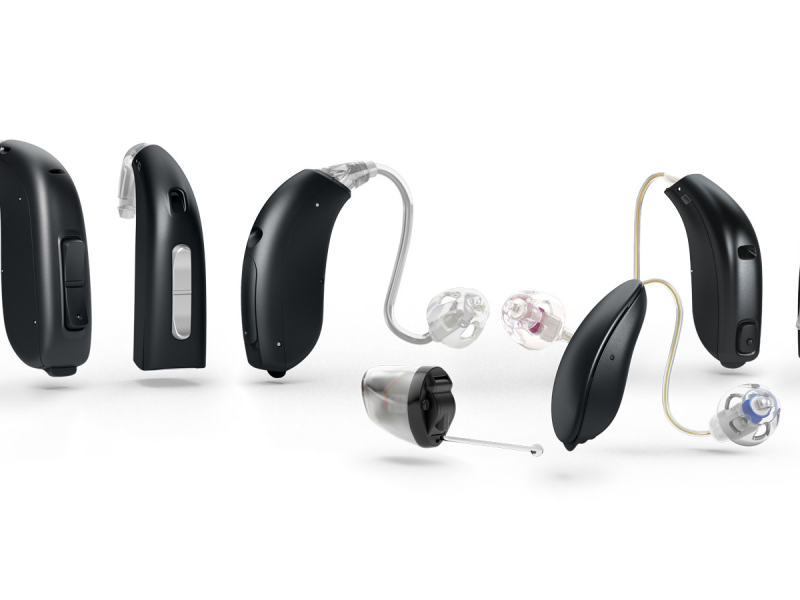 Variety of hearing aids