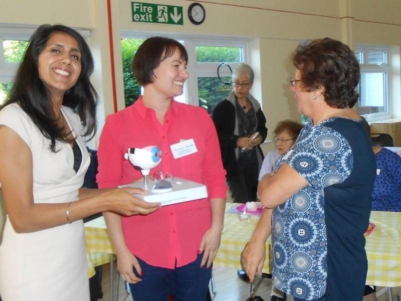 Leightons at Dementia awareness event