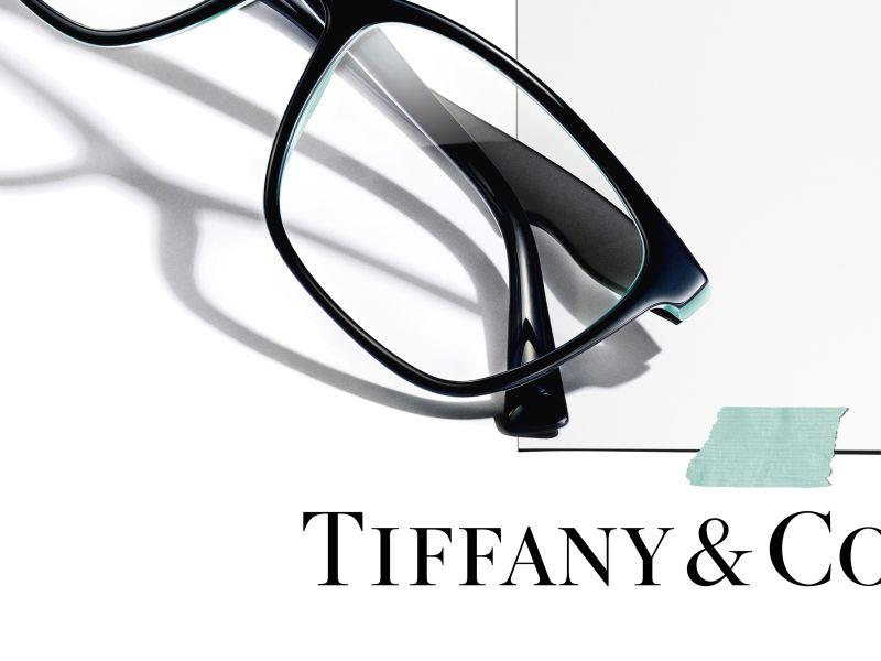 Pair of Tiffany glasses