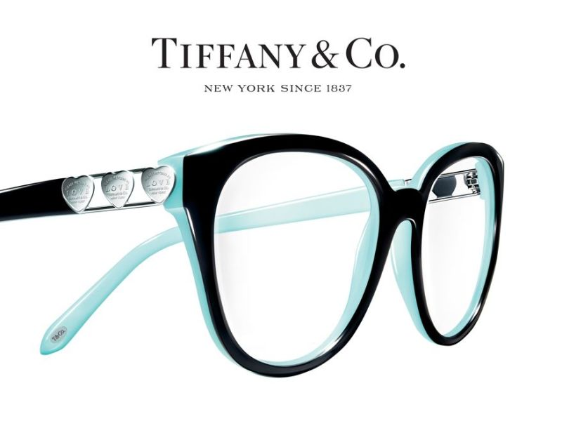 Pair of Tiffany glasses